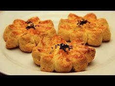 Turkish Pogaca Recipe - Flower Shaped No Yeast Breads with Potato - YouTube