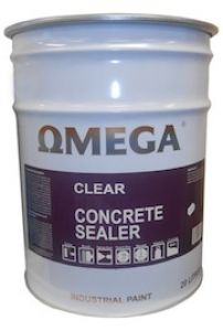 Omega Clear Sealer is a industrial, interior/exterior, solvent base paving coating that dries to a superior hard-wearing, clear finish.