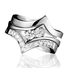 Engagement Rings With Designs On The Side