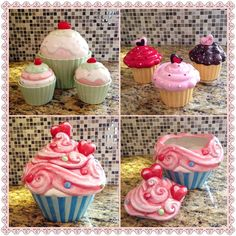 For The Cupcake & or Ceramic Candy or Cookie Jar Collector..