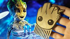 Groot comb Wooden comb Beard comb Wood Comb Wooden Beard