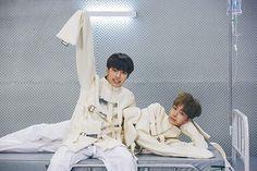 Minhyuk and Hyungwon
