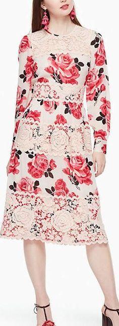 'Rosa' Lace Dress