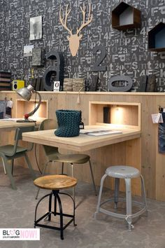 love these stools - woonbeurs amsterdam: