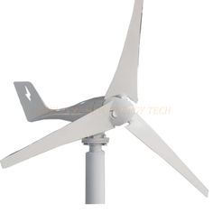 Hot selling , 100W 24v horizontal wind generator for  off grid or grid tie system with free charge controller