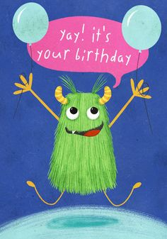 Birthday Greetings Friend, Happy Birthday Wishes Photos, Birthday Wishes For Kids, It's Your Birthday, Birthday Pictures, Birthday Images, Birthday Greeting Cards, Happy Birthday Cards, Happy Bird Day