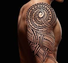 Resultado de imagen para polynesian tattoo #polynesiantattoosshoulder
