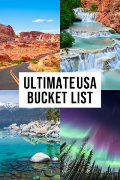 Incredible Bucket List Destinations in the USA! Don't miss these epic bucket list destination in the USA! Us Travel Destinations, Bucket List Destinations, Places To Travel, Places To Visit, Canada Travel, Travel Usa, Paris Travel, Bali, Las Vegas