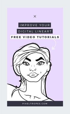 This week, I'm releasing a series of free video tutorials all about digital outlining in Photoshop. If you've ever wondered how some digital artists get smooth lineart every single time , then these trainings are for you! Click through & sign up so you don't miss these free digital art video tutorials.