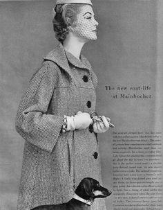 | Vogue editorial shot by John Rawlings 1953 | Jean Patchett
