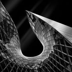 """Molten Emporia I"" Malmö, Sweden -- © 2012 Mabry Campbell -- Architect: Gert Wingårdh"