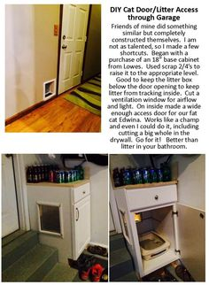 Make Your Own Cat Litter Box Furniture W This Easy