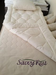 Savvy Rest Earthspring with Woolsy Topper - organic innerspring mattress with a 3 inch latex comfort layer