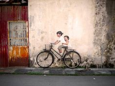 Interactive Paintings on the Streets of Malaysia