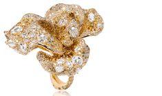 CINDY CHAO Diamond Rose Ring