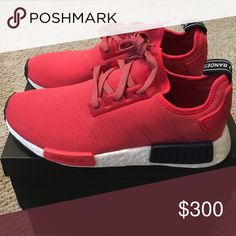 Woman's Adidas NMD_R1 9 1/2 US Size Red Never Worn Sold Out in Stores…