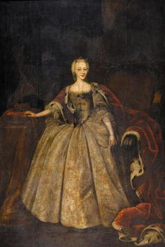 Louise of Denmark - Daughter of Christian VI and Sophia Magdalen of Brandenburg-Kulmbach. She married Ernest Frederick III, Duke of Saxe-Hildburghausen and had a daughter who died young. Princess Louise, Rococo Fashion, Old Portraits, Danish Royals, Oldenburg, Historical Clothing, Female Clothing, Female Photographers, Silent Film