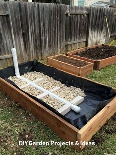 Garden Bed: Stage 2 Wicking Garden Bed: Stage 2 Wicking Garden Bed: Stage 2 Cheap And Easy DIY Projects Garden Beds 14 41 DIY Raised Garden Beds For Your Garden : solnet- Farm Glance: Norm's simple raised-bed lasagne garden — The Ruminant Raised Garden Bed Plans, Building A Raised Garden, Raised Beds, Raised Herb Garden, Organic Gardening, Gardening Tips, Vegetable Gardening, Gardening Courses, Gardening Quotes