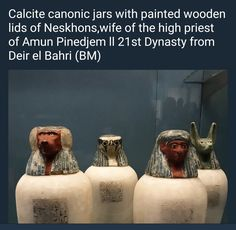 Canopic Jars Canopic Jars, High Priest