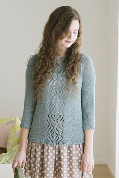 48d83d2537005a adelaide pullover knitting pattern - Quince and Co Crochet Patterns For  Beginners