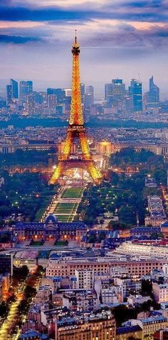 Paris, France  Love to see this gorgeous city and London too....