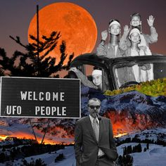 Welcome to earth. By Cane La. Poster Colour, Cut And Paste, Ufo, Welcome, Collage, Earth, Movies, Movie Posters, Inspiration