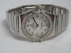 Omega Constellation My Choice Ladies Mini Watch 1465 71 00 7612586004858 | eBay