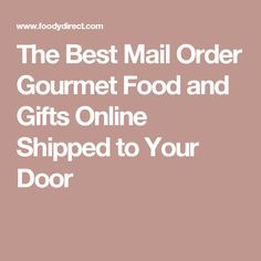 Goldbelly Mail Order FoodMeat OnlineBest Food GiftsBirthday