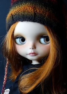 Beautiful and cool Blythe doll
