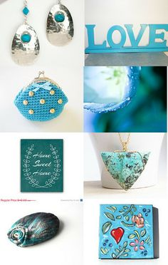 We Have Something to TEAL YOU !! by Sisters on Etsy--Pinned with TreasuryPin.com