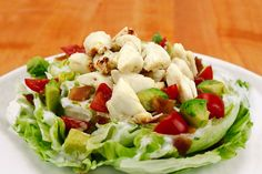 Jumbo Lump Crab Wedge Salad - Handy International