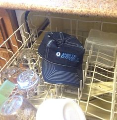 How to wash your ball caps in the dishwasher in 5 easy steps.