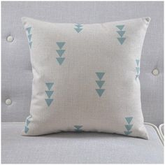 Triangle Throw Pillow Cover