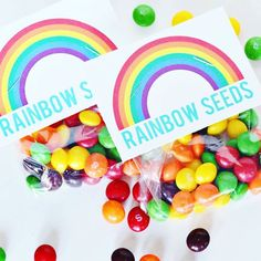 Rainbow seeds✨ who wouldn't want rainbow seeds?!  idea+ The crafting chicks #WeLoveit  #Regram via @clearbags