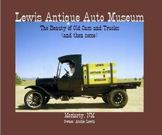 Click to preview Lewis Antique Auto Museum The Beauty of Old Cars and Trucks (and then some) Moriarty, NM Owner: Archie Lewis photo book