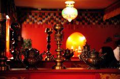 Interior of Tibet restaurant in Kamergersky Lane, Moscow by Oleg Bartunov, via Flickr