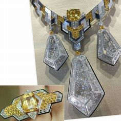 Some 'proper' statement jewellery by @boucheron #highjewellery Source @likeab @carineloeillet