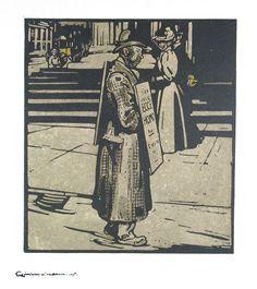 Sandwich Man (Trafalgar Square)