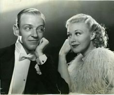 Fred Astaire & Ginger Rogers (Top Hat)