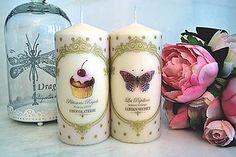 Svietidlá a sviečky - Romantické sviečkové duo - 5992097_