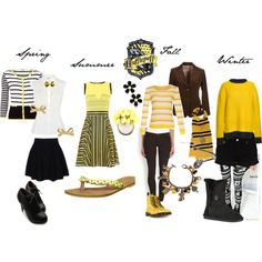 """""""Hufflepuff Inspired Outfit"""" by shana-askew on Polyvore"""