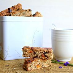 Mango Date Brown Flour Muesli Rusks | Berry Sweet Life