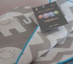 100%COTTON Cot Bed Duvet Cover Set Girls Boys Grey Chevron ZigZag Elephants | eBay