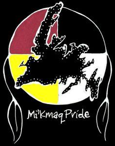 Original Design Mi'Kmaq T Shirt by Knix Fiber Art by KnixFiberArt- I think I'll order mine in red..