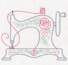 Excellent Snap Shots embroidery designs free Tips Free Embroidery Design: Vintage Stitches Sewing Machine Hand Embroidery Patterns Free, Sewing Machine Embroidery, Hand Embroidery Stitches, Learn Embroidery, Crewel Embroidery, Embroidery Techniques, Embroidery Ideas, Sewing Stitches, Sewing Machine Tattoo