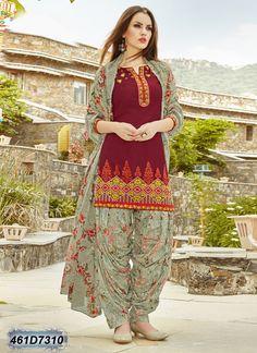 Buy online sarees, salwar kameez and designer kurtis with pure quality fabric and at manufacturer rates. Muslim Fashion, India Fashion, Patiyala Dress, Punjabi Dress, Latest Designer Sarees, Formal Dresses For Weddings, Mode Hijab, Pakistani Outfits, Indian Designer Wear