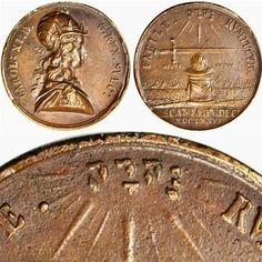 1676 Swedish Battle of Lund Copper Medal #Tetragrammaton #Jehovah #Yahweh…