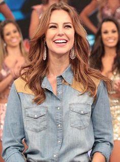 Paolla Oliveira revela para Faustão: 'Se ganhasse por lágrimas eu estava bem' | Notas TV - Yahoo! TV