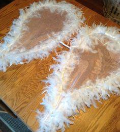 DIY angel wings