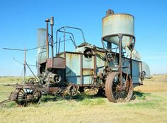 Case combine from the 1930ies